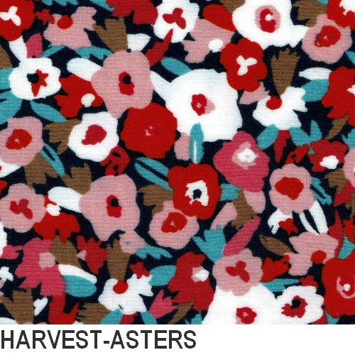 Puffin Gear Organic Cotton Double Gauze Harvest - Aster - Made in Canada