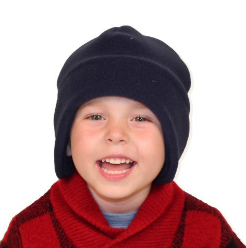 Puffin Gear Polartec Classic 200 Fleece Blizzard Child Hat - Made in Canada