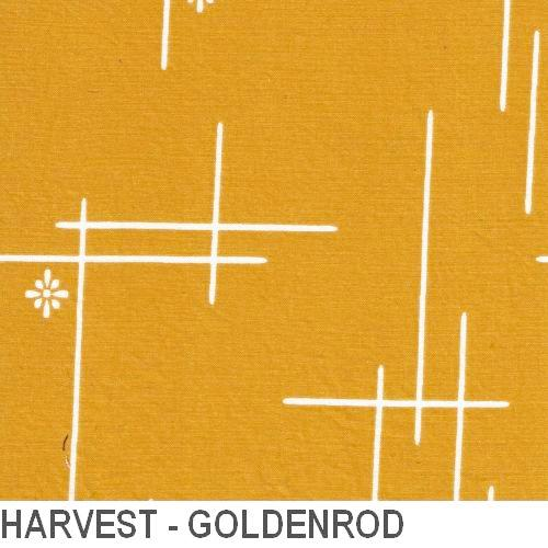 Puffin Gear Organic Cotton Poplin Harvest - Goldenrod - Made in Canada