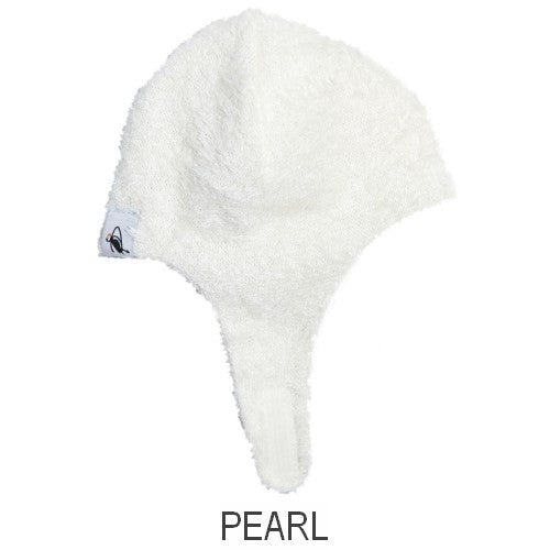 Puffin Gear Kitten Cuddle Helmet Hat-Pearl-Made in Canada