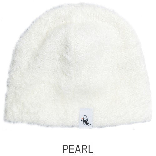 Puffin Gear Kitten Cuddle Kid Slouch Beanie -Pearl- Made in Canada