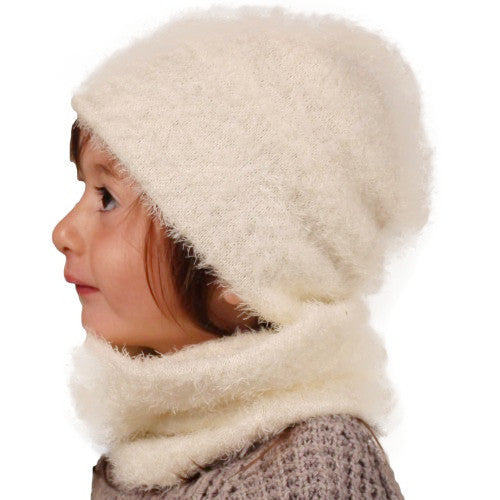 Puffin Gear Kitten Cuddle Kid Slouch Beanie - Made in Canada