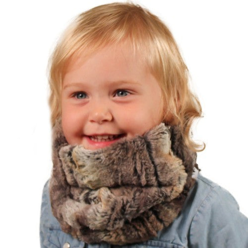 Puffin Gear Child Lodge Faux Fur Neck Warmer - Made in Canada
