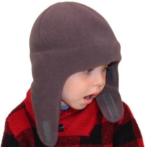 Puffin Gear Polartec Classic 200 Fleece Child Snowball Hat - Made in Canada