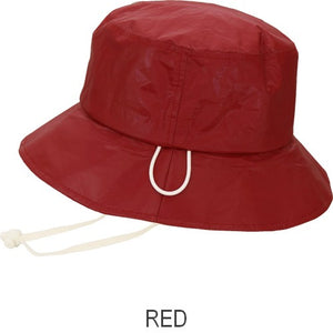 Puffin Gear® Tyvek® Adult Rain Hat - Red - Made in Canada