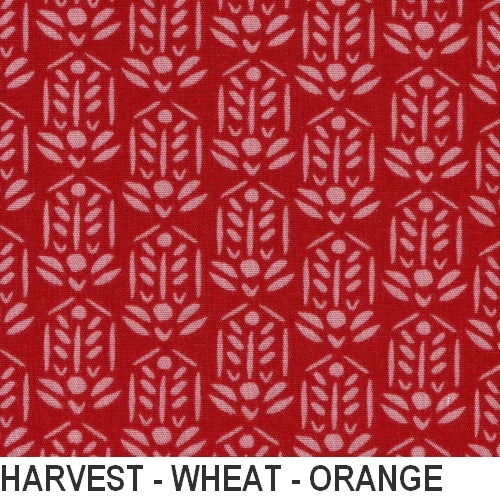Puffin Gear Organic Cotton Double Gauze Harvest - Orange Wheat - Made in Canada