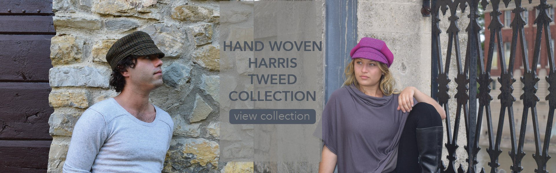 Puffin Gear Harris Tweed Hats Made in Canada