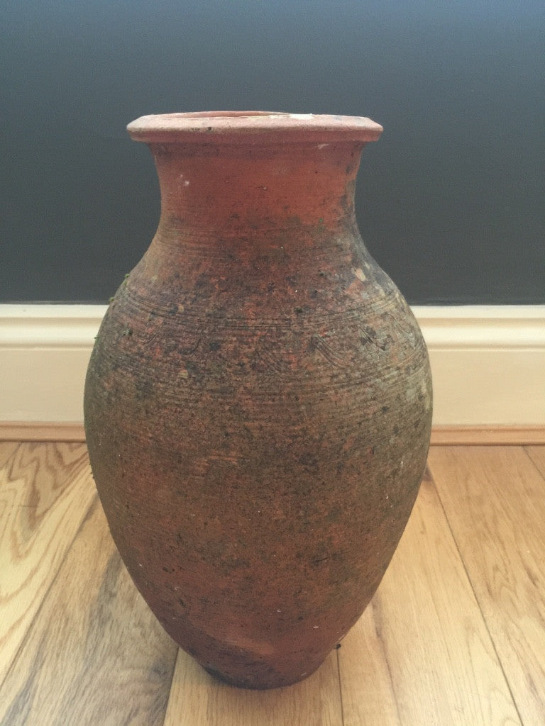 Weathered Terracotta Pot