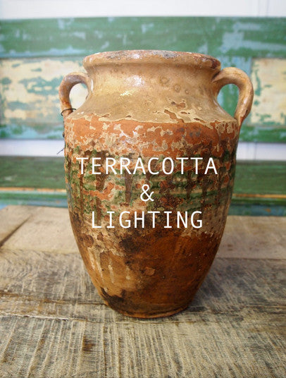 Terracotta & Lighting