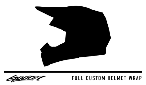Full Custom Helmet Wrap