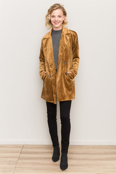Corduroy Velour Jacket