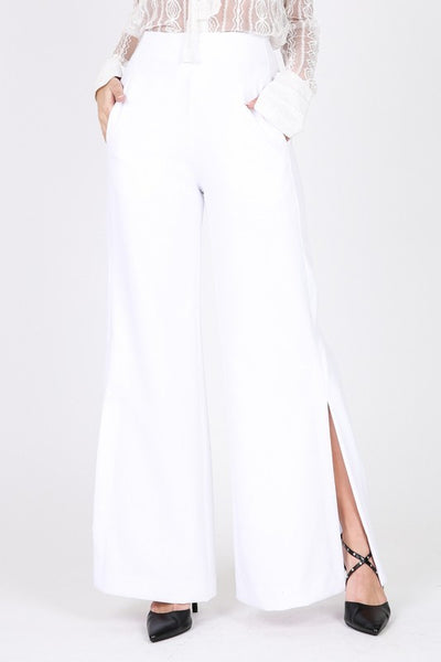The Fay White Trouser