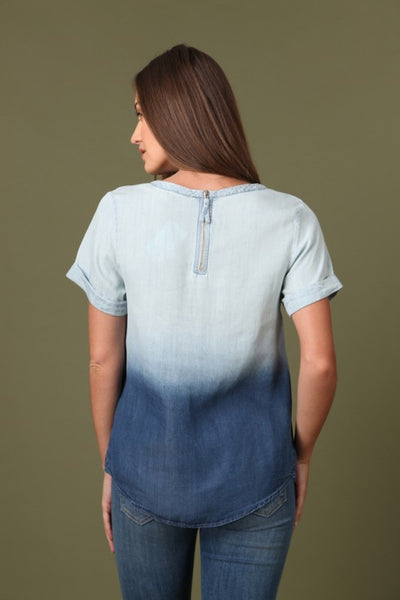 The Ash Spring Denim Top