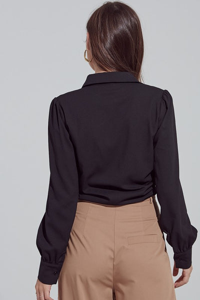The Blaine Top in Black