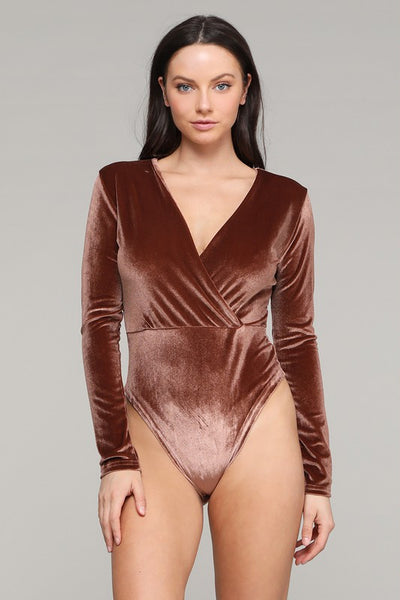 The Kenlee Velvet Bodysuit