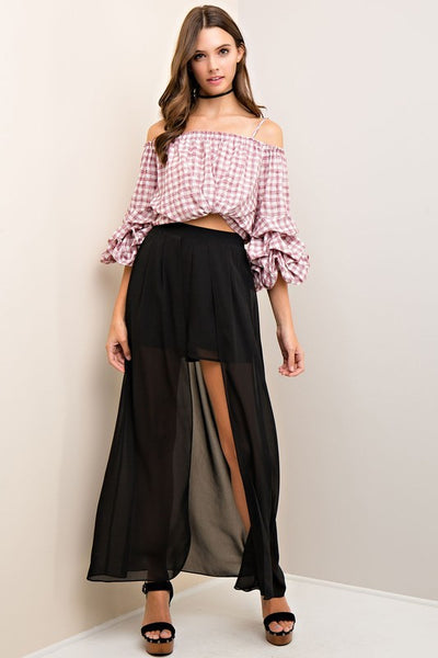 The Duster Maxi Shorts