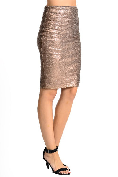 The Emmeline Sequin Skirt