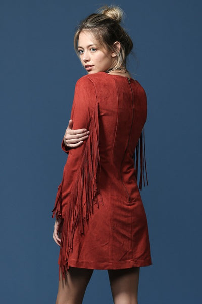 The Deja Fringe Dress
