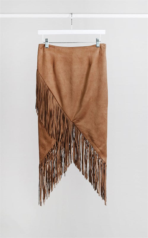 The Olivia Fringe Skirt