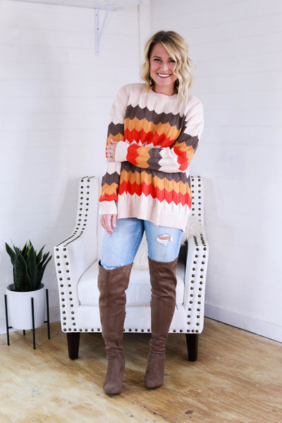 October Colors Sweater