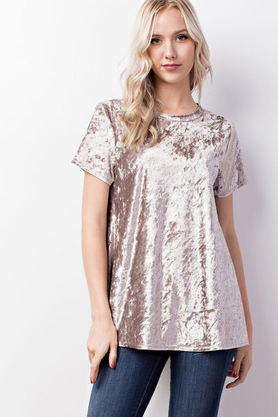 Crushed Velvet Tunic