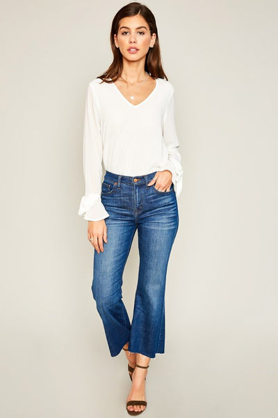 The Tish Basic White Top
