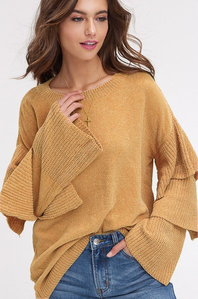 The Freesia Sweater