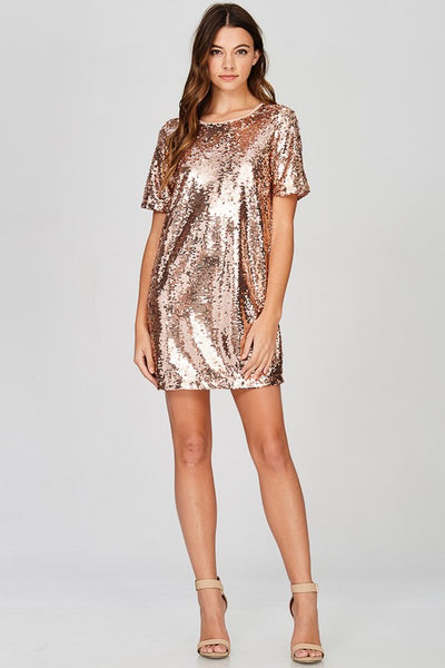The Miia Sequin Minidress