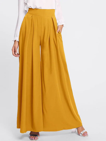 The Colee Trouser in Mustard