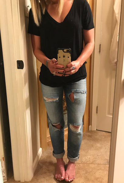 Lightwash Boyfriend Jean