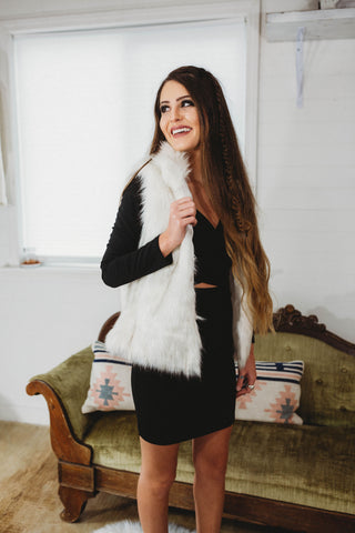The Elsie Fur Vest