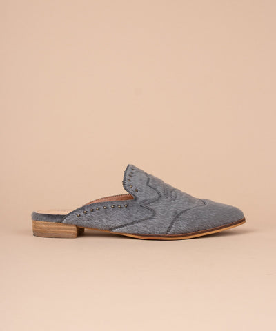 The Rosie Mules in Grey