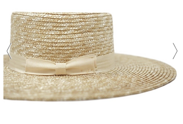 The Emma Boater Hat