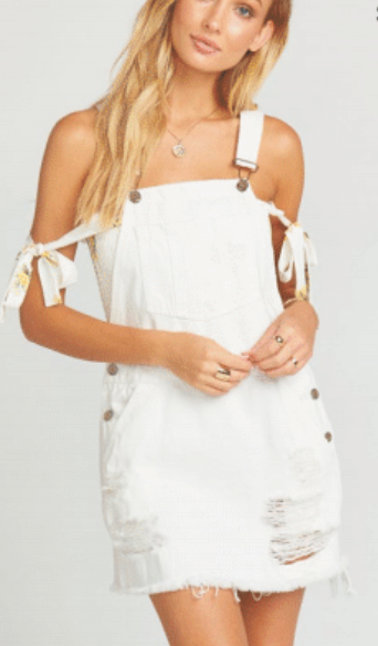 Show Me Your MuMu Georgia Overalls Dress