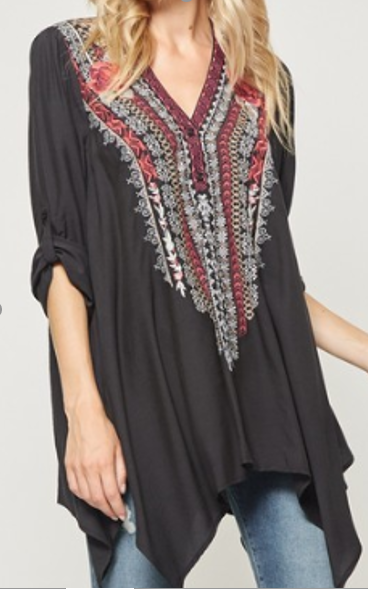 The Reata Embroidered Tunic