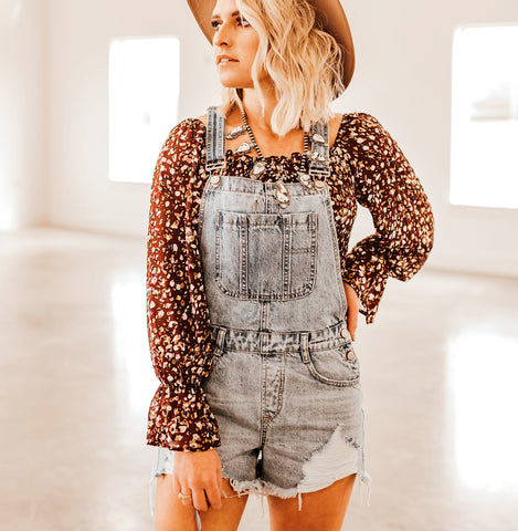 The Saturn Denim Overall