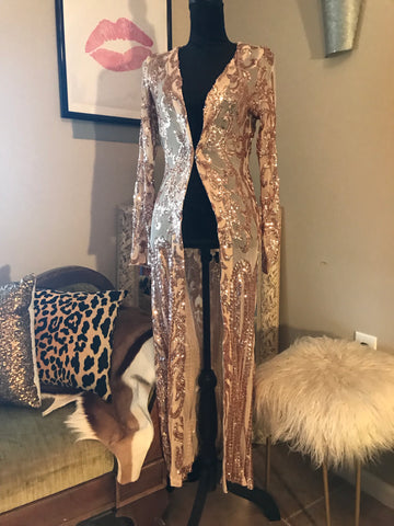 The Bellagio Sequin Duster