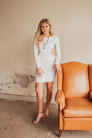 The Aria Dress in White