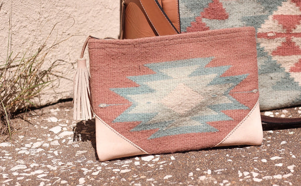The Antonia Aztec Clutch