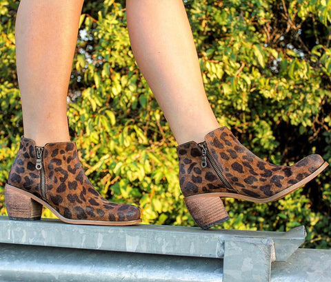 The Reba Cheetah Bootie