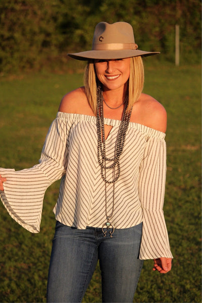 The Velinda Off Shoulder Top
