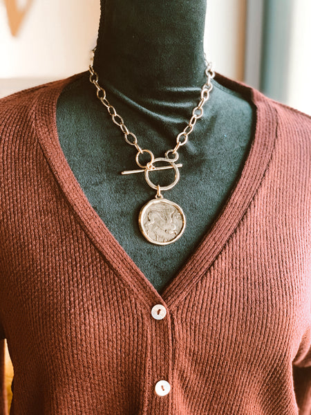 The Demi Coin Necklace