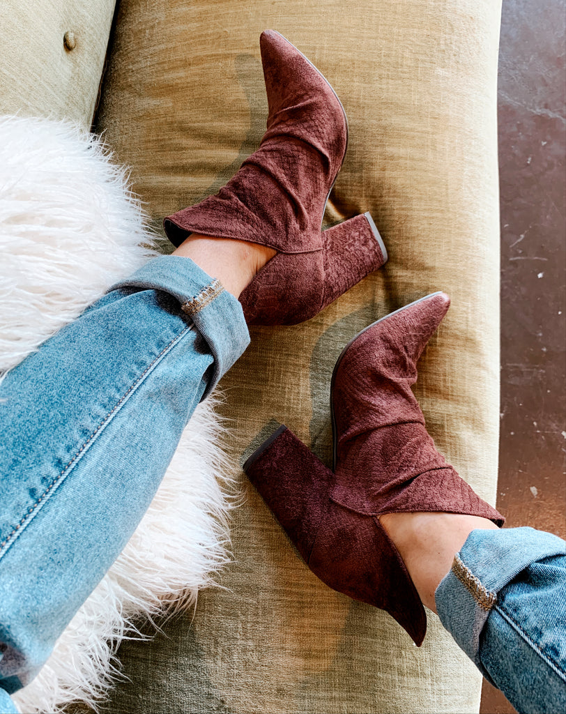 The Kendall Bootie