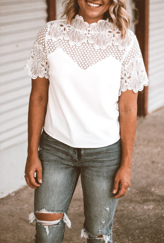 The Cooper Top in White