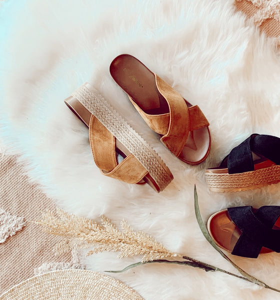 The Tara Summer Sandal in Camel