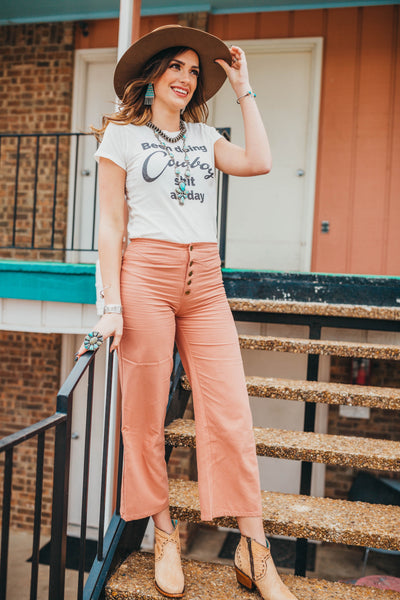 The Ferrini Crop Pants