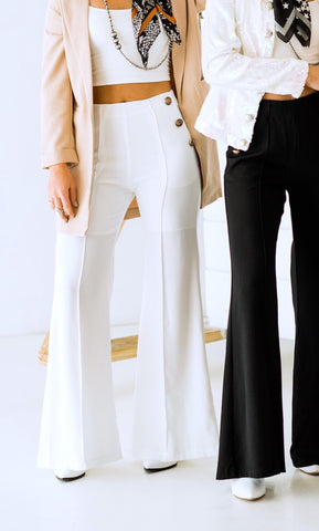 The Kori Trouser in White