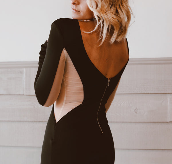 The Aria Dress in Black