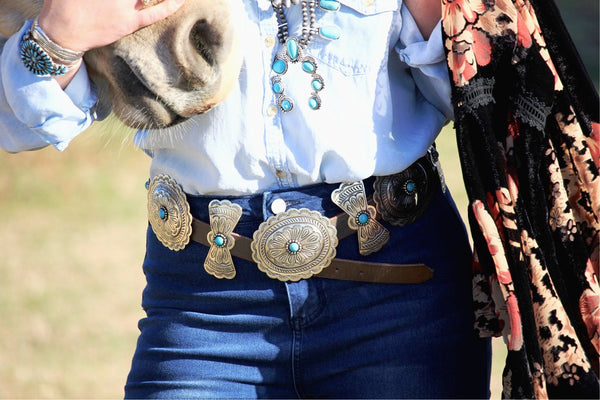 The Creede Concho Belt - PRE ORDER