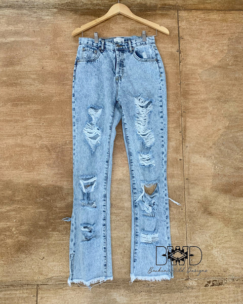 The Maren Denim Pants